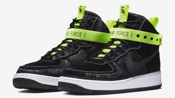 "Nike Air Force 1 Hi VIP ""Black"" 登場"
